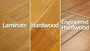 Laminate, Solid Hardwood, Engineered Comparison