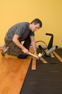 Installing tongue and groove hardwood floor - DIY or Contractor
