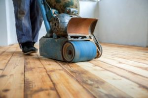 Hardwood Floor sanding, polishing